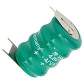 Varta 55608304059 - 4/V80H Battery - 4.8V 80mAh Ni-MH - 3 Pin