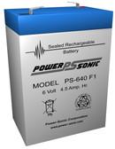 Streamlight 44007 Flashlight Battery - 6 Volt 4.5 Ah