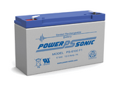 Hubbell 12-268 - 0120268 Battery - 6 Volt 12.0 Ah - Emergency Light