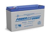 Hubbell 12-825 - 0120825 Battery - 6 Volt 12.0 Ah - Emergency Light