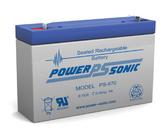 At-Lite 24-1011 Battery - Emergency Lighting - 6 Volt 7.0 Ah