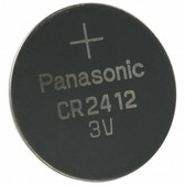 Panasonic CR2412 Battery - 3V Lithium Coin Cell