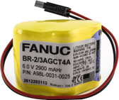 GE Fanuc BR-2/3AGCT4A Battery - 6V Lithium PLC Battery