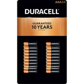 Duracell Coppertop AAA Batteries - Alkaline 34 Pack - MN2400