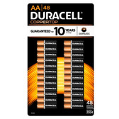 Duracell Coppertop AA Batteries - Alkaline 48 Pack - MN1500
