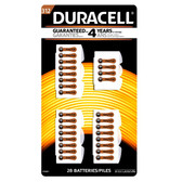 Duracell Size 312 Hearing Aid Batteries (32 Pack)
