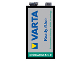 Varta P7/8H - 5622101501 Battery 8.4V (9 Volt Case) Rechargeable