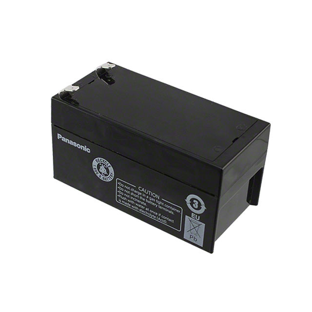 panasonic lc r121r3pu battery 12v 1 3ah sealed rechargeable. Black Bedroom Furniture Sets. Home Design Ideas