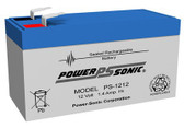 Power-Sonic PS-1212 Battery - 12 Volt 1.2 Amp Hour