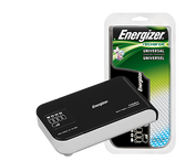 Energizer Recharge Universal NiMH - Nickel Metal Hydride Battery Charger for AA, AAA, C, D and 9 Volt CHFC