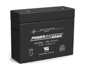 Power-Sonic PS-1251FP Battery - 12V 5.4Ah Sealed Rechargeable