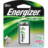 Energizer Recharge 9 Volt NiMH - Nickel Metal Hydride Battery