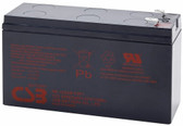 CSB HR1224W F2F1 Battery - 12V 6.0Ah 24W/Cell Sealed Rechargeable, Replacement Batteries for HR 1224W, HR 1224W, HR 1224W F2, HR 1224W F2F1, HR 1224WF2, HR 1224WF2F1, HR1224W, HR1224W F2, HR1224W F2F1, HR1224WF2, HR1224WF2F1, UPS12260, UPS12260 6, UPS122606
