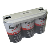 0800-0102 6 Volt 5.0 AH 1x3 X Cell Battery - Enersys Cyclon Hawker