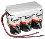 0800-0115 Battery 12V 5.0Ah Enersys - Cyclon - Hawker