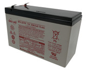 "Enersys Data Safe NPX-35TFR Battery 12V 35W/Cell 15 Min. (.250"" Tabs)"