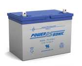 Power-Sonic PS-12750 U Battery - 12V 75.0Ah Sealed Rechargeable, Replacement Batteries for GP-12750, GP12750, GPL-12750, GPL12750, PS-12750, PS-12750NB, PS12600, RBC-13, RBC-14