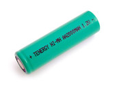 Tenergy AA 2000mAh NiMH Battery - Rechargeable (Flat Top) 10306-0