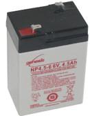 Enersys Genesis NP4.5-6 Battery - 6V 4.5Ah
