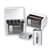 (10 Pack) Ultralife U9VL-JP10CP 9 Volt Lithium Battery