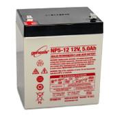 Enersys - Genesis NP5-12 Battery - 12V 5.0Ah