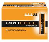 Duracell Procell AAA Batteries - PC2400 Industrial (24 Pack)
