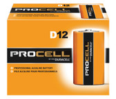 Duracell Procell D Batteries - PC1300 Industrial (12 Pack)