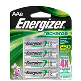 Energizer AA NiMH Rechargeable Batteries (8 Pack) NH15BP-8