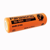 Panasonic HHR-210A Battery - 1.2V 2200mAh A NiMH Cell