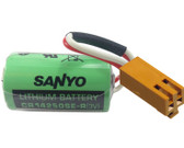 Sanyo CR14250SE-R Battery with (RD029 Connector)