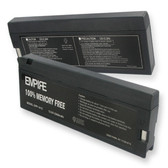 Panasonic LCS-2012 Battery Replacement - 12V 2300mAh