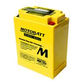 Motobatt MB12U Battery - AGM Sealed for Motorcycle - Powersport