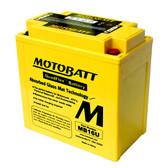 Motobatt MB16U Battery - AGM Sealed for Motorcycle - Powersport