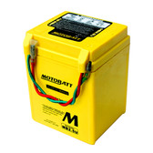 Motobatt MB2.5U Battery - AGM Sealed for Motorcycle - Powersport