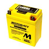 Motobatt MB3U Battery - AGM Sealed for Motorcycle - Powersport