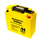 Motobatt MB5.5U Battery - AGM Sealed for Motorcycle - Powersport