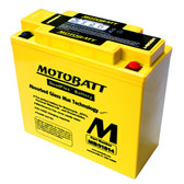 Motobatt MB51814 Battery - AGM Sealed for Motorcycle - Powersport