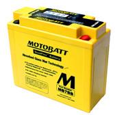 Motobatt MB7BB Battery - AGM Sealed for Motorcycle - Powersport