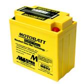 Motobatt MB9U Battery - AGM Sealed for Motorcycle - Powersport