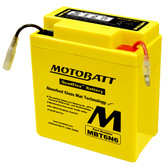 Motobatt MBT6N6 Battery - AGM Sealed for Motorcycle - Powersport