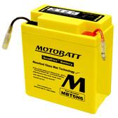 Motobatt MBT6N6 Battery - AGM Sealed for Motorcycle - Powersport