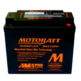 Motobatt MBTX20UHD Battery - AGM Sealed for Motorcycle - Powersport