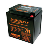 Motobatt MBTX30UHD Battery - AGM Sealed for Motorcycle - Powersport