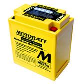 Motobatt MB10U Battery - AGM Sealed for Motorcycle - Powersport