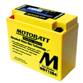 GS Battery GT12B-4 Battery Replacement - AGM Sealed for Motorcycle