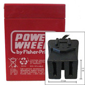 Power Wheels A-Type Connector Battery