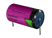 Tadiran TL5930/T Battery - 3.6V Lithium D Cell (Solder Tabs)