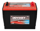 Odyssey 31M-800 Battery - Group 31 Performance Automotive Sealed AGM (SAE / Stud Terminals)