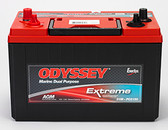 Odyssey 31M-PC2150ST Battery - Group 31 Extreme Marine Sealed AGM (SAE / Stud Terminals)