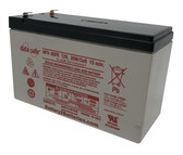 "Enersys Data Safe NPX-35FR Battery 12V 35W/Cell 15 Min. (.187"" Tabs)"